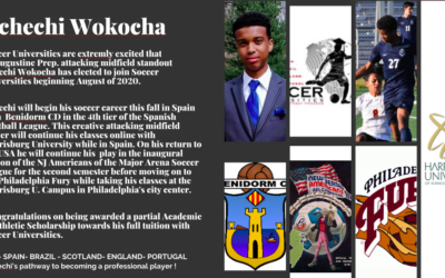 Uncechi Wocka has elected to join Soccer Universities beginning August of 2020