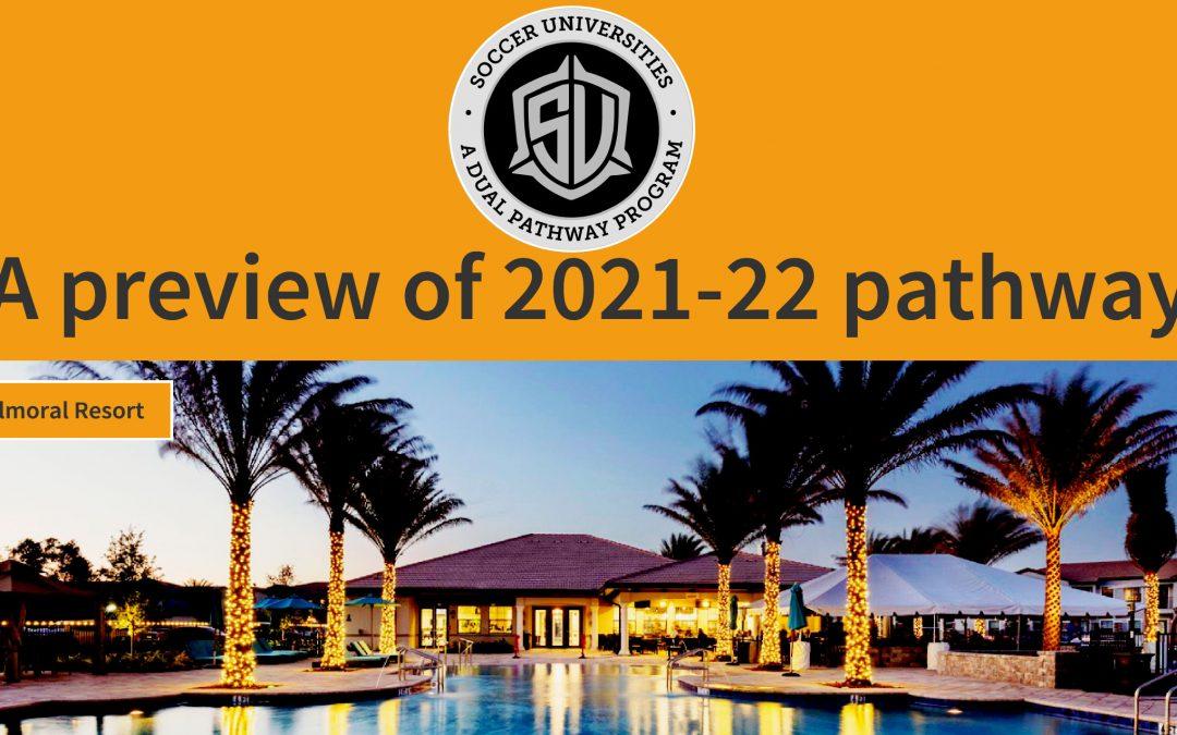 Soccer Universities – 2021-22 Pathway